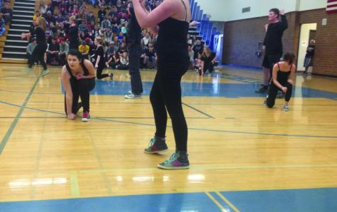 Big Sky's Dance Class Performed During the Spring Sports Assembly