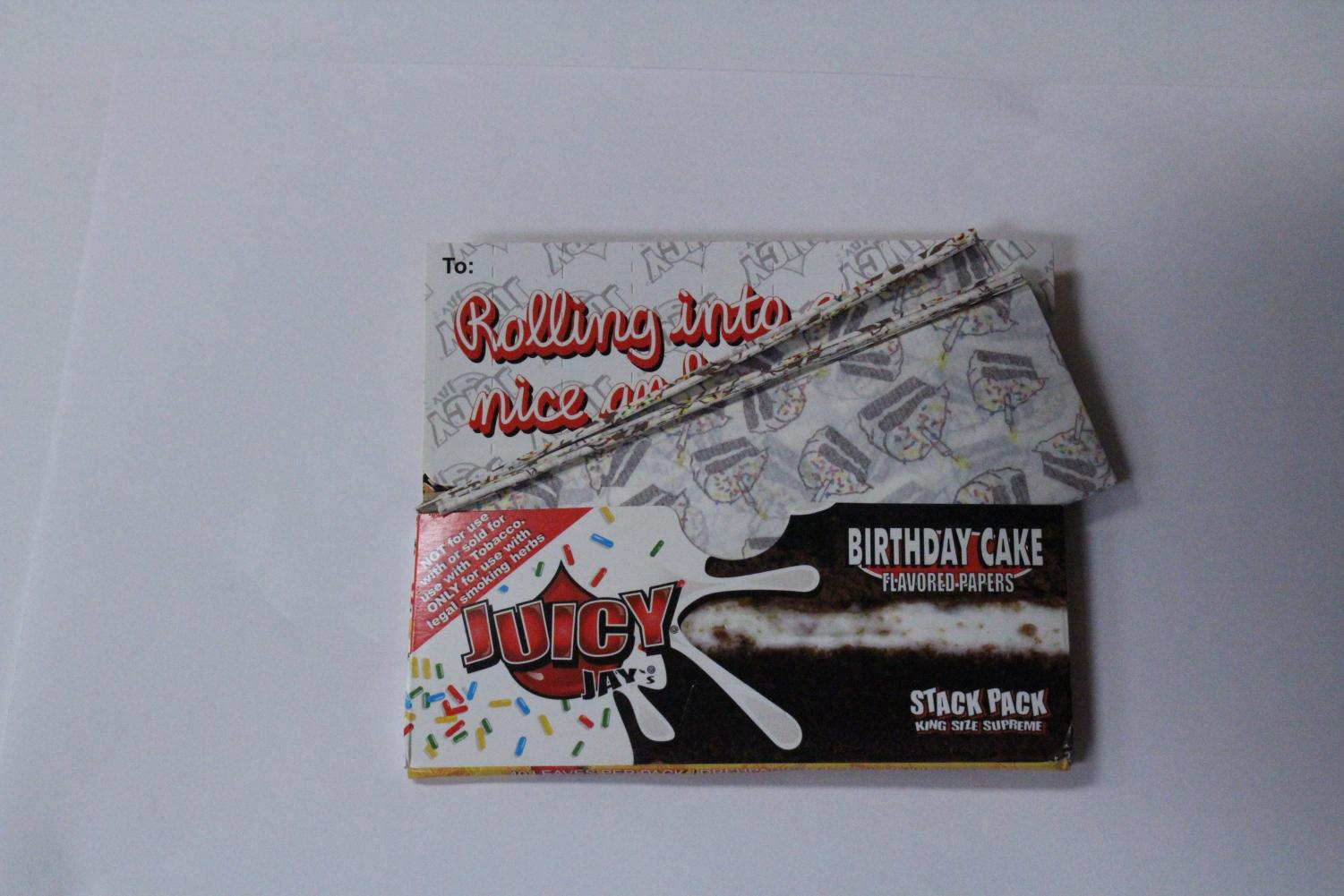 Birthday edition rolling papers. An expert from the Harvard School of Public Health says