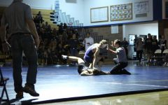 Wrestling home opener: One to behold