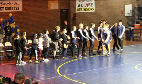 Wrestling wins blowout against Hellgate, 69-5