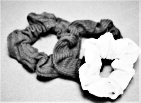 three scrunchies