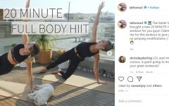 two women in ab poses on instagram page